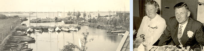 In 1930 is de eerste boot gebouwd door Scherpel sr.